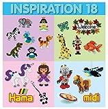 Hama Perlen 399-18 Inspiration Heft Nr. 18 Vorlagenbuch mit farbenfrohen Ideen, Motiven und...
