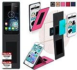 reboon Hülle für Elephone S2 Plus Tasche Cover Case Bumper | Pink | Testsieger
