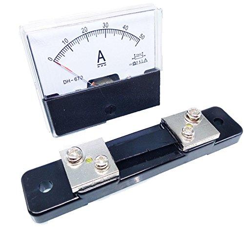Amperemeter/Amperemeter, analog, DC- und Shunt
