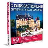 SMARTBOX - Coffret Cadeau Couple - Cadeau original : Séjour de 3 jours gastronomique en châteaux et belles demeures