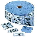 Admit 1 Double Ticket Rolls Ð Blue Ð 2000 Per Roll Ð Carnival Tickets - Concert Tickets Ð Admission Tickets