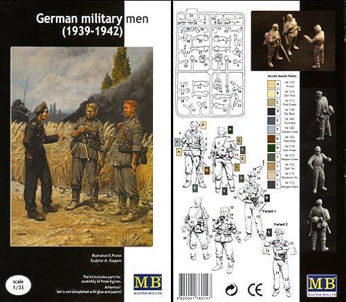 GERMAN MILITARY MEN (1939-42) (3PCS)