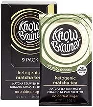 Know Brainer, Instant, Matcha Tea, keto, mct coconut oil, organic grass fed, non gmo, sugar free