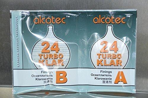 TURBO KLAR 24h - ALCOTEC Schönung Klärung der Weine Biere und Maischenmode d'emploi Turboklar Turbo Klar Turbohefe Turbo Hefe Wodkahefe Wodka Destillieren Gärhefe