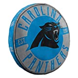 Northwest NFL Carolina Panthers Cloud to Go StylePillow, Team Colors, One Size