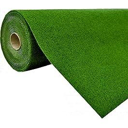 havatex Tapis Gazon Artificiel avec Picots (1,150 g/m²) – Couleur: Vert | résistant aux salissures et Durable | Balcon…