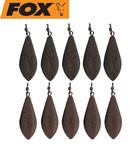 FOX 10 Bleie Horizon Leads Karpfenbleie Wirbelbleie Blei, Karpfenleads, Karpfensee, Karpfenmontage, Gewicht:121g