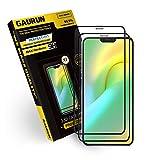 [GAURUN ガウラン] iPhone 12 Mini 用(5.4) ガラスフィルム (2枚入り) 硬度9H フルカバー 傷防止 指紋防止 耐衝撃 強化ガラス 液晶保護フィルム シート 2.5D プライムケースフィットガラス