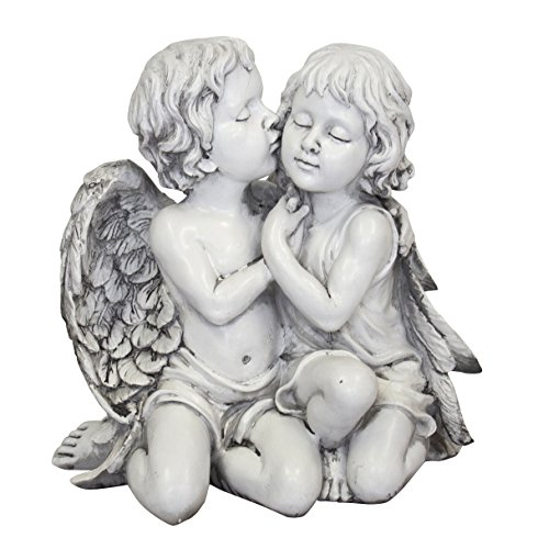 DARO DEKO Garten-Figur Engel Liebes-Paar
