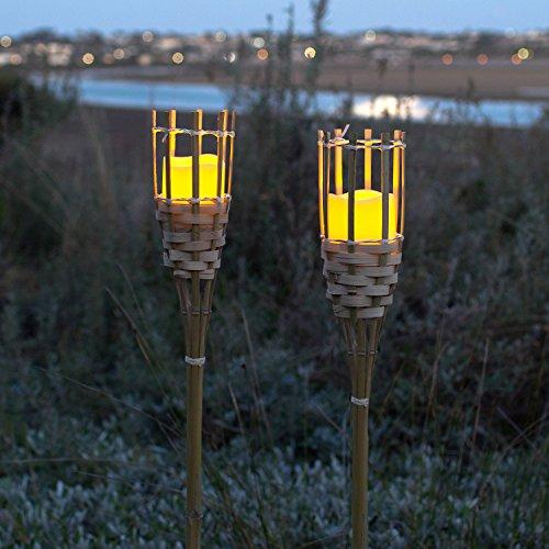 made2trade Lot de 2 lanternes en Bois et m/étal pour lint/érieur et lext/érieur