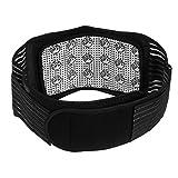 SUPVOX Magnetfeldtherapie Rückenbandage Rückengurt Wärmegürtel Selbsterwärmende Lindert Schmerzen für Frauen und Männen -