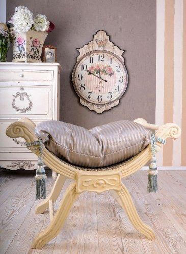 PALAZZO INT Königlicher Hocker Sitzgondel im Barockstil Madame Pompadour