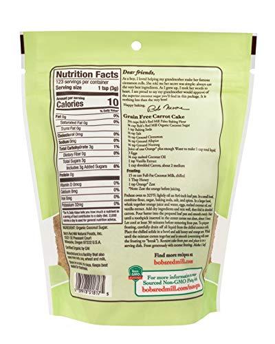 ボブズレッドミル オーガニック ココナッツ シュガー (有機JAS) 369 g