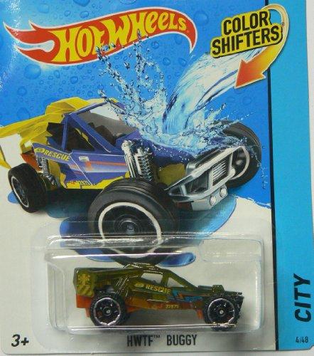 Hot Wheels 2014 City Color Shifters HWTF Buggy 4/48