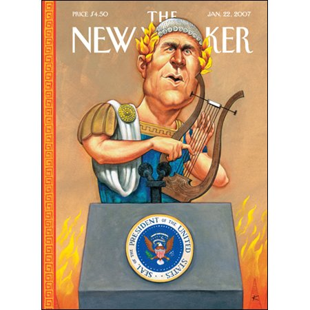 The New Yorker (Jan. 22, 2007) cover art