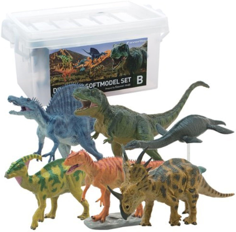 Dinosaur Soft Model Set B by Febaritto