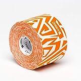 Tape de Sixtus Italia–Dream K Tribe 5cm x 5m–Color Blanco de naranja–el Deporte Tape con efecto Kinesio–más rápido y cómodo Tape Vendaje