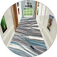 KKCF 廊下のカーペット、 バッキングプラスチック滑り止め底 マイクロファイバー 滑り止めコージー 廊下の入り口、 サイズはカスタマイズ可能 (Color : A, Size : 1x1m)