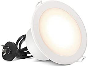 HPM 7W 90 mm Flush Face LED Downlight with White Finish, Warm Cool and Natural White