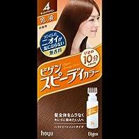 ビゲンスピィーディーカラー 乳液 4 ライトブラウン ×2セット