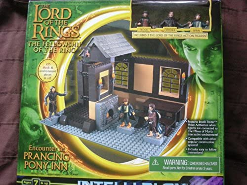 Lord of the Rings, Fellowship of the Ring, Encounter At the Prancing Pony, Construction System Intelli-blox Playset