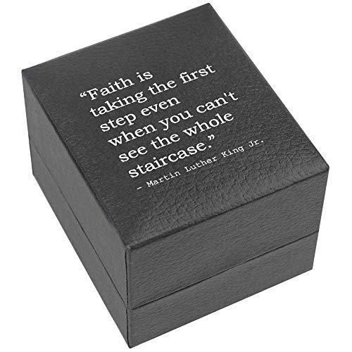 Azeeda Quote by Martin Luther King Jr. Verlobungsringbox (RB00000393)