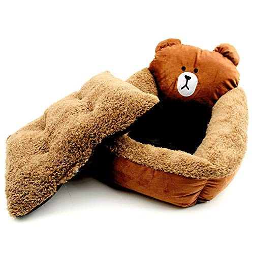 KDAQO 58 * 48 * 15cm Haustier-Nest, die warme Winter-Haustier-Nest, Easy tUm Sauber, schnell trocknend, Geeignet for Familien, Pflegeheime, Tierbedarf (Size : 46 * 38 * 12cm)