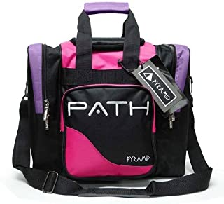 Pyramid Path Pro Deluxe Single Bowling Ball Tote Bowling Bag – Holds One Bowling..