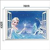 Zoom IMG-1 kibi adesivi muro frozen camera