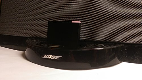 luetooth Wireless Receiver Adapter für Bose Sounddock Series 1 Lautsprecher und Alle iPhone iPod Android Bluetooth-Gerät für Audio-Streaming, Schwarz