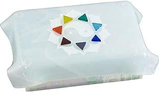 Kheops International 42018 Glass Tarot Box Dragon Ruby