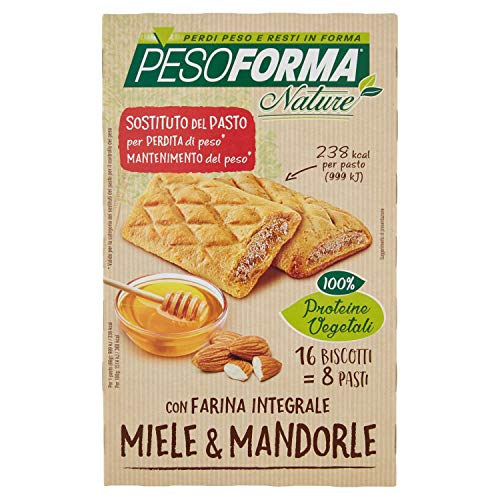Pesoforma Biscotto Integrale Miele e Mandorle, 595 g
