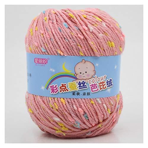 IENNSA 50 g de Hilo de algodón bebé para Tejer a Mano Ganchillo en Hilo de Lana de Peor Colorido...