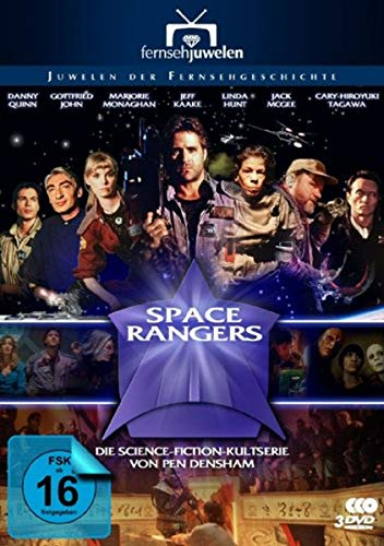 Space Rangers - Fort Hope - Die komplette Serie [3 DVDs]