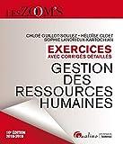 Gestion des ressources humaines - Exercices avec corrigés detaillés