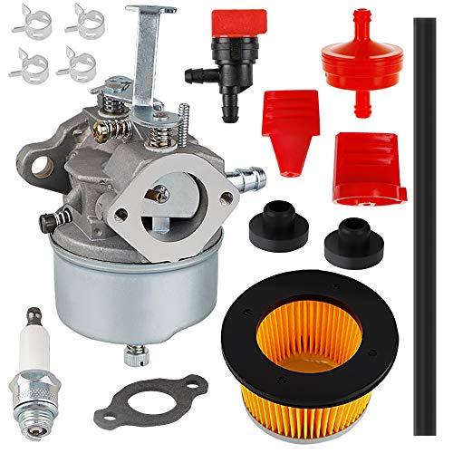 632272 Carburetor for Tecumseh H30 H50 H60 HH60 632230 632631 631067 632235 631867 632019 631828 632076 632076 5HP 6HP Troy-Bilt Hose Tiller Engine Snow Blower Rebuild Kit -  HUZTL