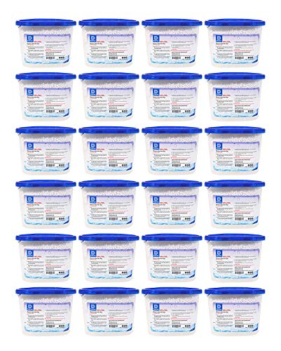 Dry & Dry [24 Packs [Net 10 Oz/Pack] Premium Moisture Absorber to Control Excess Moisture for Basements, Closets, Bathrooms, Laundry Rooms. No More Damp, Mold