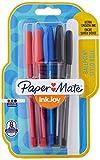 Paper Mate Inkjoy, 100 bolígrafos de punta redonda, surtido (paquete de 8)
