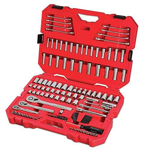 CRAFTSMAN Juego de herramientas mecánicas SAE/métrica, 135 piezas (CMMT12024)