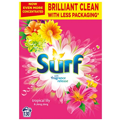 Surf Tropical Lily & Ylang-Ylang for Fabric Care Laundry Powder for...