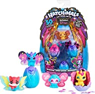 MIX AND MATCH WINGS: Wilder Wings Hatchimals have the most beautiful wings. Each character comes with their own style of large wings. You can mix and match them on all 50 of the wild new characters. WILD NEW HATCH: The Multipack has 3 Hatchimals in-e...