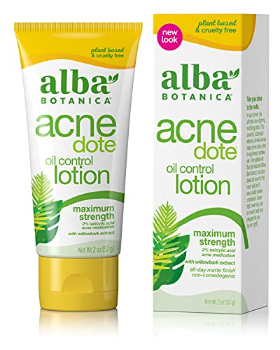 Alba Botanica Acnedote Maximum Strength Oil Control Lotion