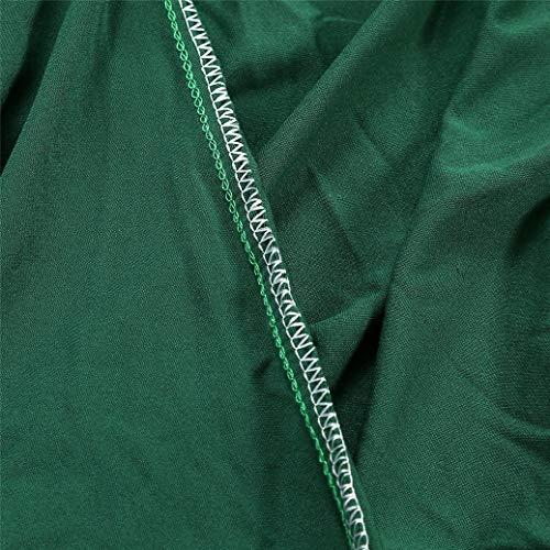 Sticker Superb - Copridivano in Tinta Unita, 360 ° Tutto Incluso Poliestere Elastico Antivegetativa Prevenzione dei Graffi Sottile e Leggero Fodere Copridivano (Verde Scuro,145-190 cm)