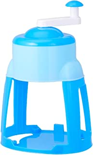 ドウシシャ 氷かき器 手動 製氷カップ付き ブルー