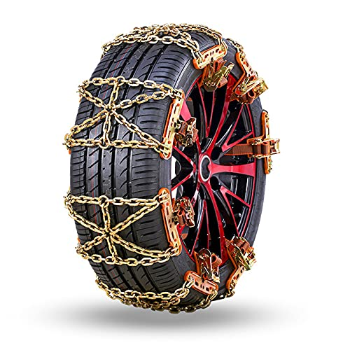KMNN Winter Snow Chains For Automobiles, Off-road Vehicles, Suvs, Cars,...