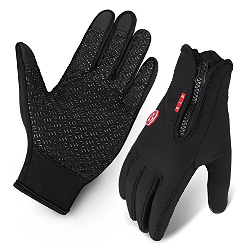 Cycling Gloves, Waterproof Touchscreen in Winter