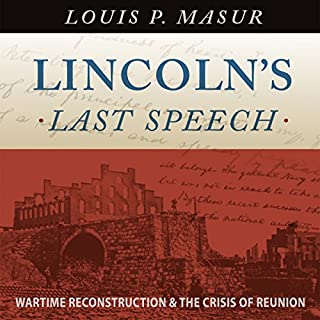Lincoln's Last Speech cover art