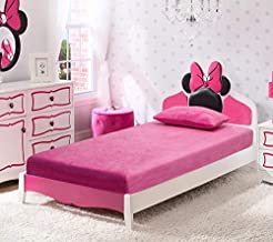 IRVINE HOME COLLECTION Twin Size 6-inch Gel Memory Foam Mattress, Free Matching Pillow, Medium Firm, Cool Sleep, CertiPUR-US Certified, Great for Kids, Bunk Beds, Trundles, Campers, and Daybeds, Pink
