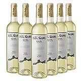Pata Negra Viura Vino Blanco D.O Rioja - Pack de 6 Botellas x 750 ml