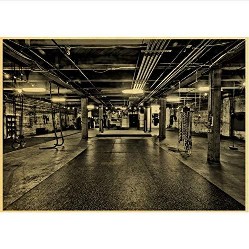 yitiantulong Impresión En Lienzo Arnold Schwarzenegger Poster Bodybuilding Fitness Gym Workout Poster Pintura Arte De La Pared para La Decoración De La Sala De Estar R-699 (50X90Cm) Sin Marco